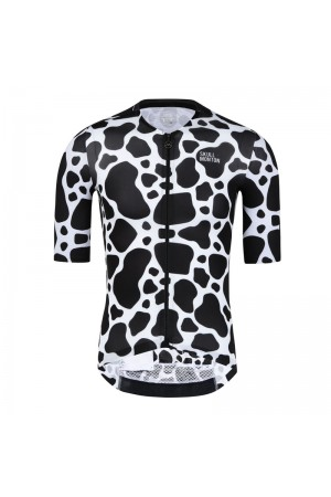 2021 Skull Monton Mens Short Sleeve Cycling Jersey COW