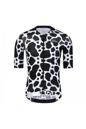 2021 Skull Monton Mens Short Sleeve Cycling Jersey COW