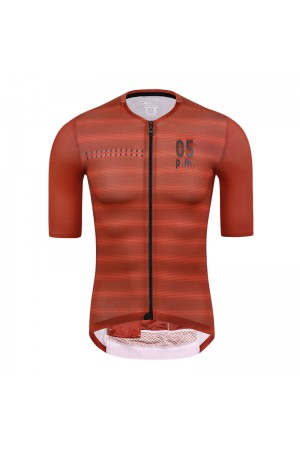 2021 Skull Monton Mens Short Sleeve Cycling Jersey 05pm Red