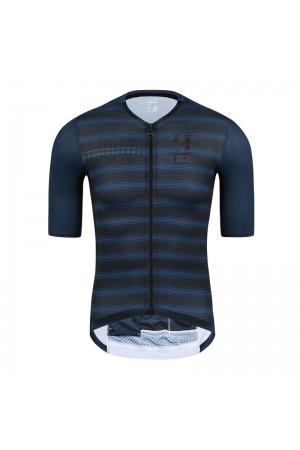 2021 Skull Monton Mens Short Sleeve Cycling Jersey 10pm Night Blue