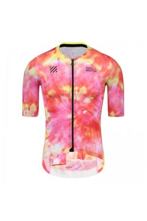 2021 Skull Monton Mens Short Sleeve Cycling Jersey AutumnWarm