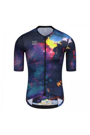 2021 Skull Monton Mens Short Sleeve Cycling Jersey SeasonsChange