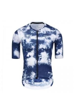 2021 Skull Monton Mens Short Sleeve Cycling Jersey WinterCold
