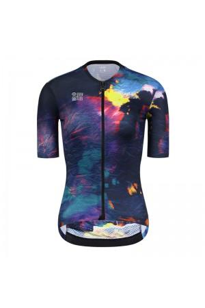 2021 Skull Monton Womens Short Sleeve Cycling Jersey SeasonsChange