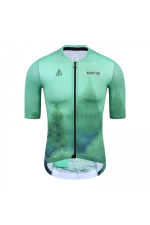 2021 Mens Short Sleeve Cycling Jersey Urban Forest