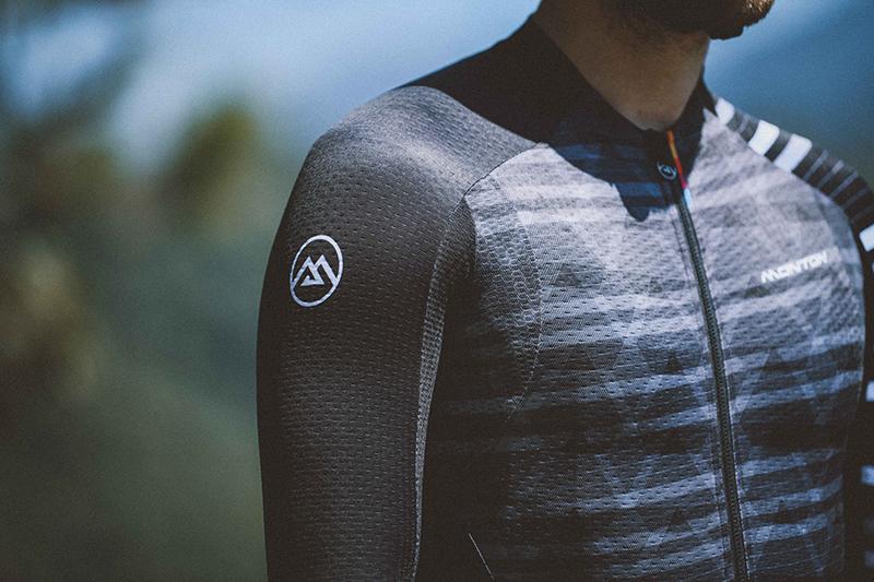 Long sleeve bike jersey sun protection