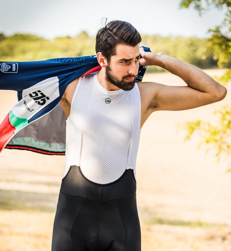 cycling undershirt