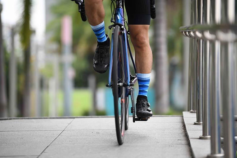 Unique cycling socks