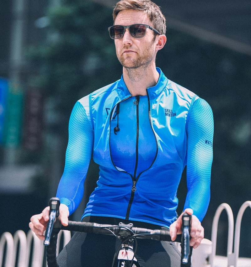 windproof cycling gilet