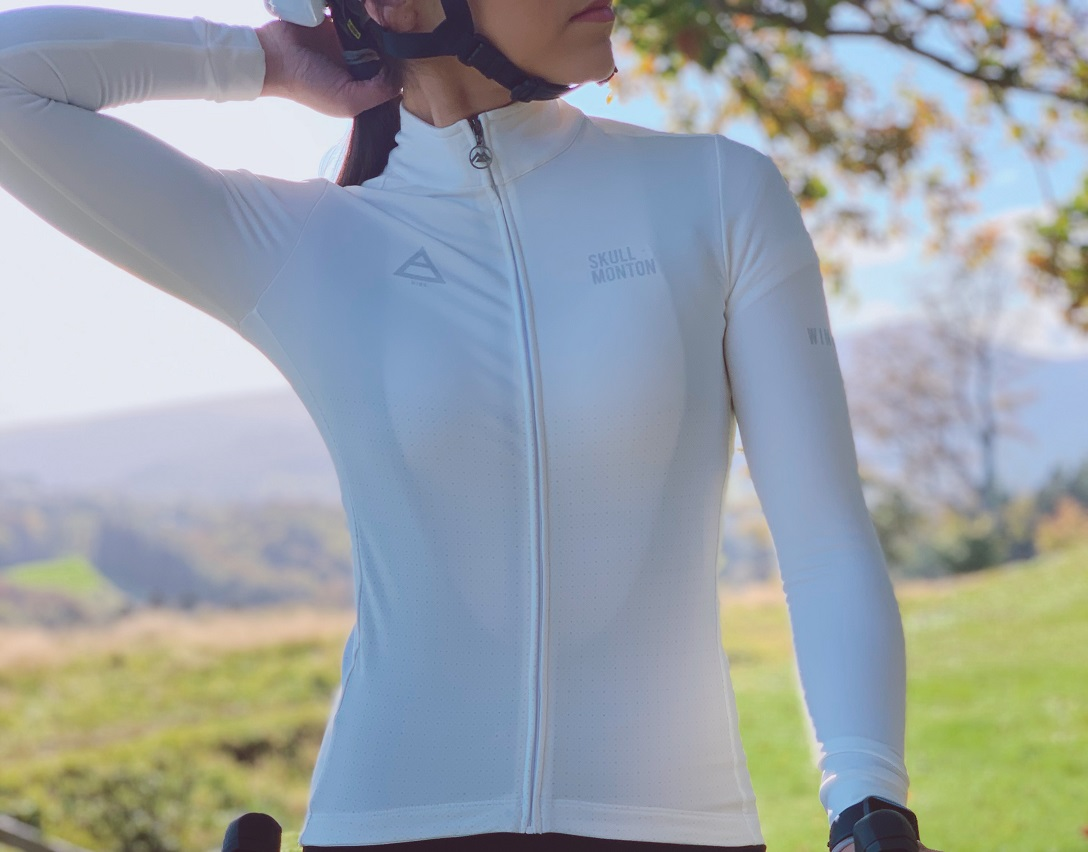 womens thermal cycling jersey
