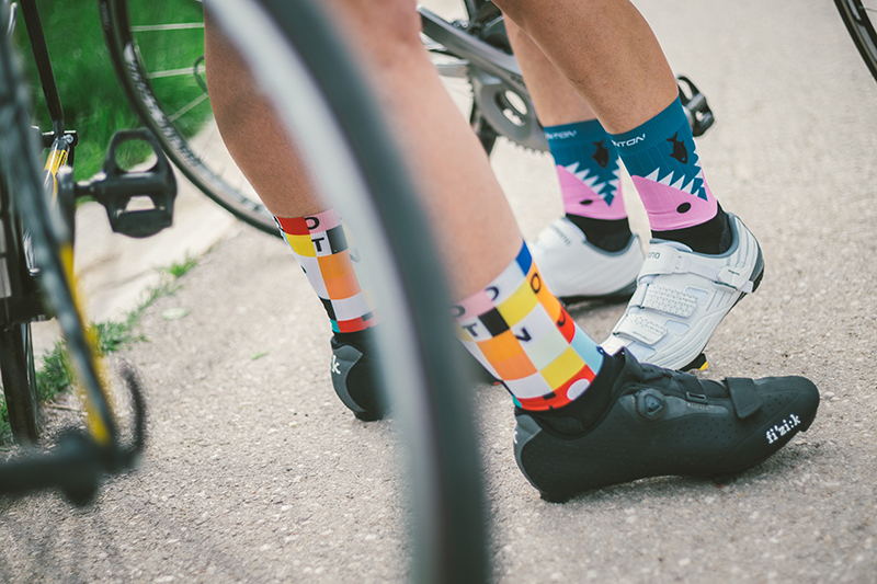 women's cycling compression socks