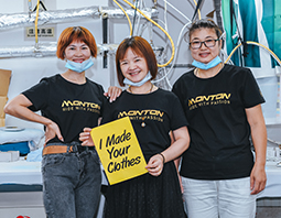 custom cycling clothing- mass production