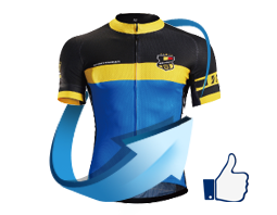 custom cycling clothing- sample