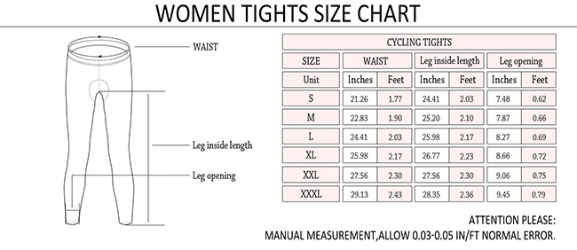 Monton 2015 Pro Plus Sarin Cycling Tights Size Chart