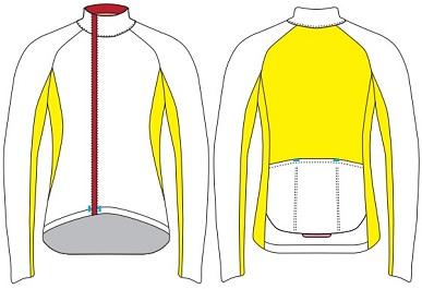 cycling windbreaker template