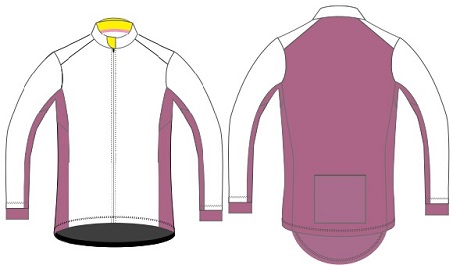 cycling windbreaker template