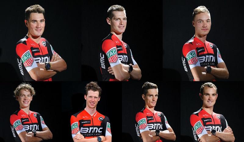 BMC Racing Team start list
