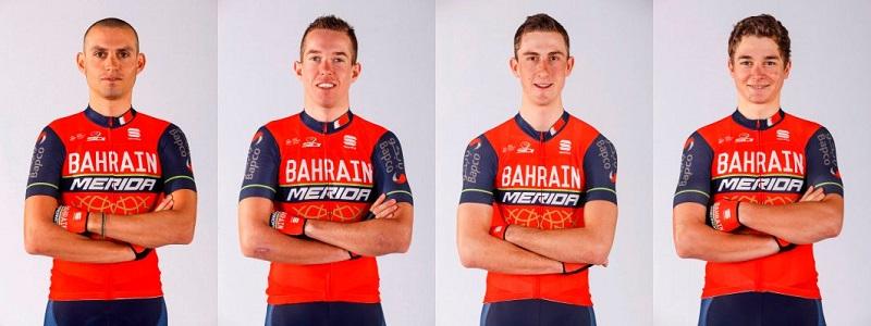 Bahrain Merida Pro Cycling Team tour of guangxi start list