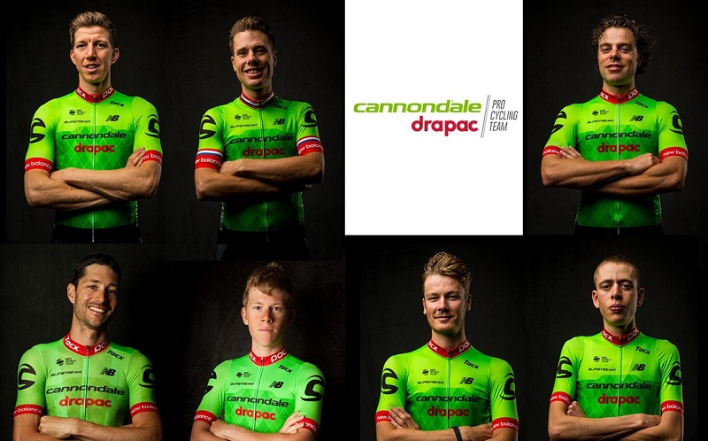Cannondale Drapac Pro Cycling Team Start List