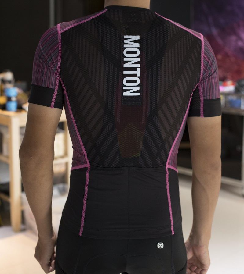 running cycling jersey