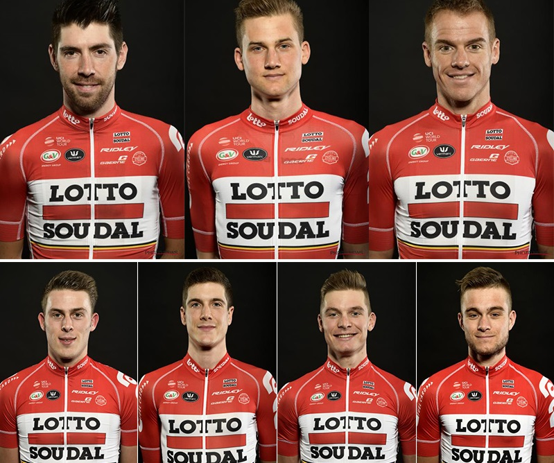 Lotto-Soudal start list