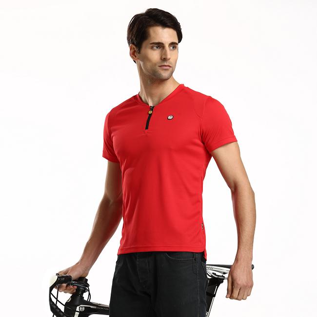 Monton 2015 Bike T shirts Bate Red