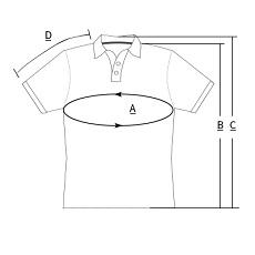 cycling polo shirt template