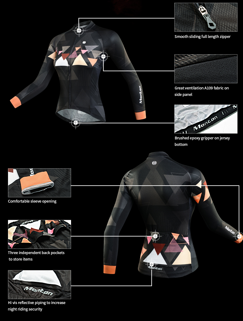 Long Sleeve Cycling Jersey Hot Weather