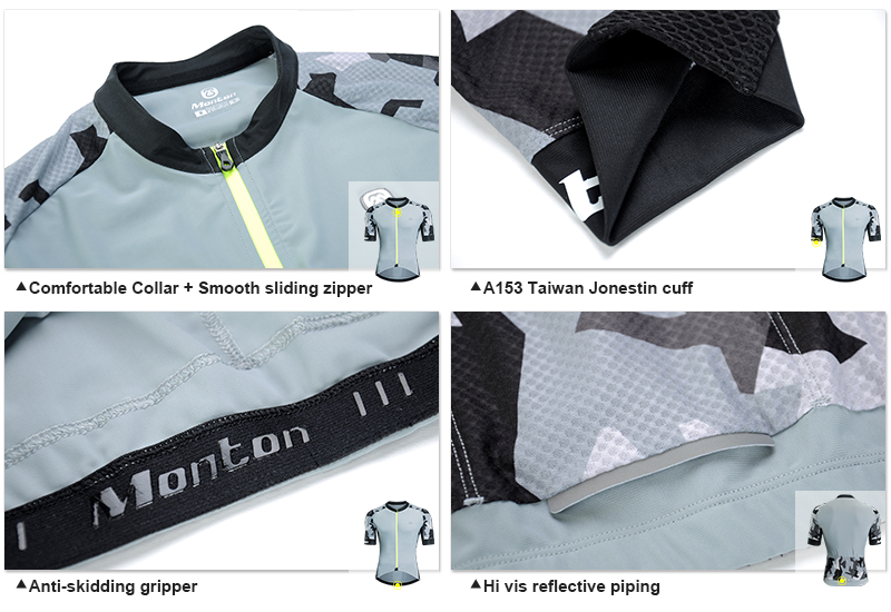 Short Sleeve Cycling Tops
