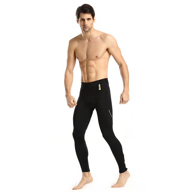 Monton 2015 Summer Cycling Tights Scirocco Black on Model