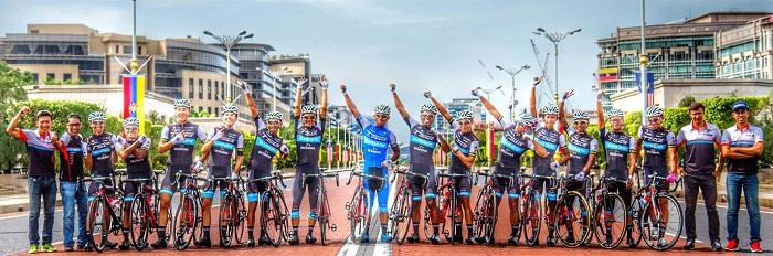 TSG cycling team