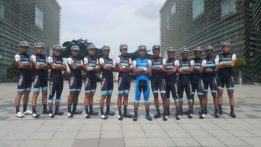 TSG cycling team