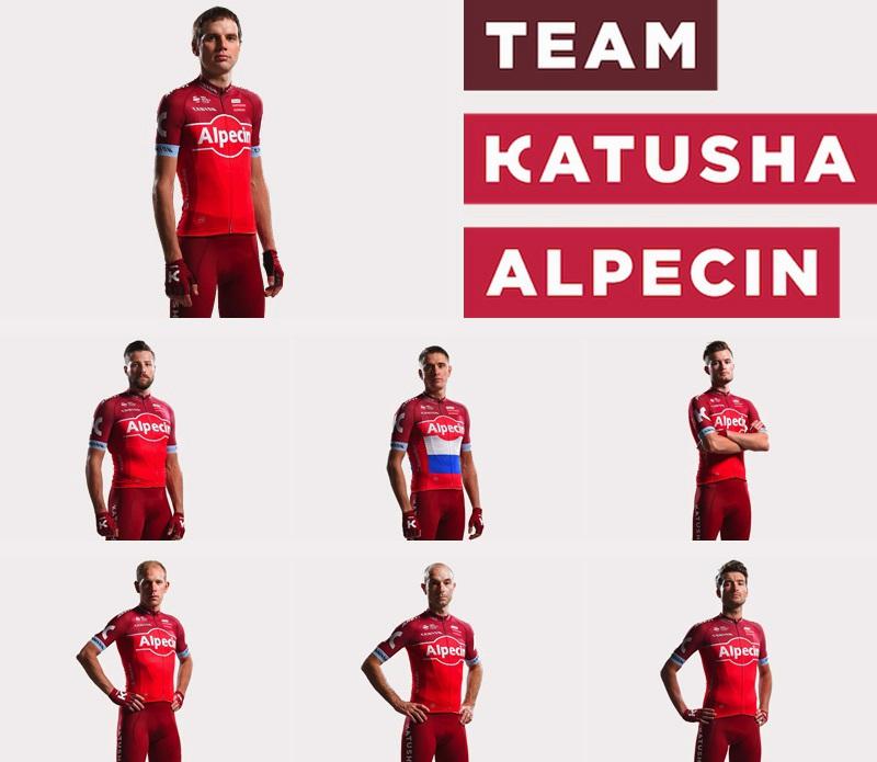 Team Katusha Alpecin Start List
