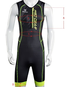 triathlon suit mens size