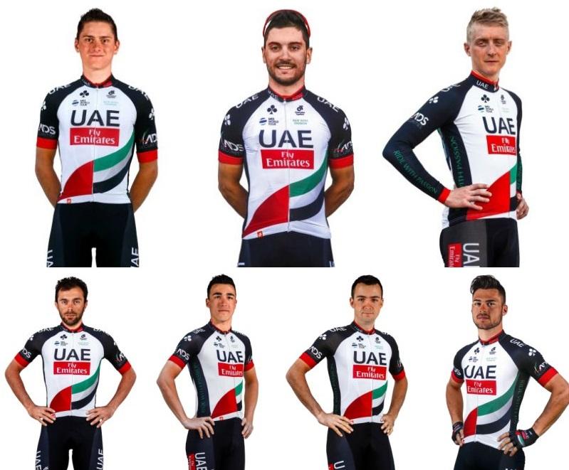 UAE-Team Emirates tour of guangxi start list