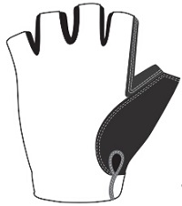 Half Finger Gloves template