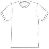 cycling T-Shirt template