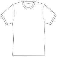 cycling T-Shirt template