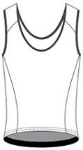 Running Vest template