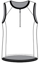 Triathlon Vest template