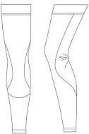 cycling Leg Warmers template