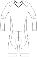 cycling skin suit template