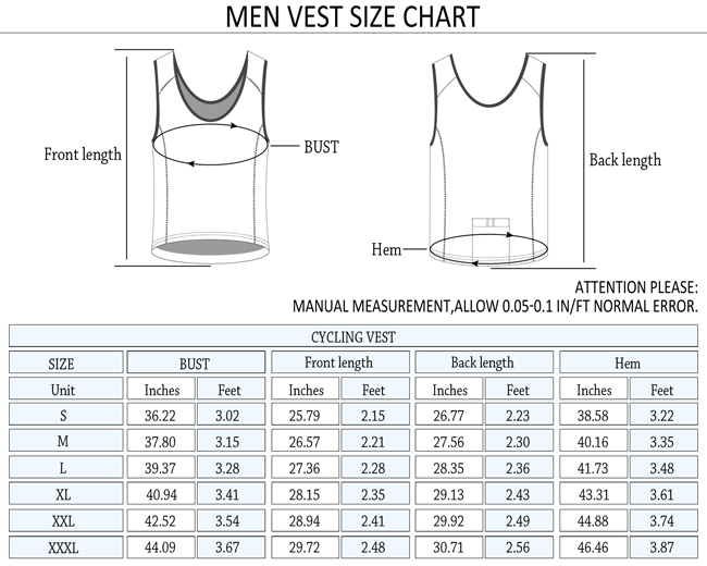 2015 Monton Mens Best Running Singlet Firmament Blue Size Chart