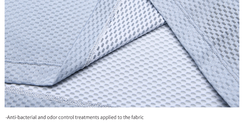 Anti-bacterial and odor control treatments applied to the fabric