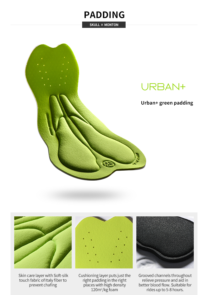 Urban green padding