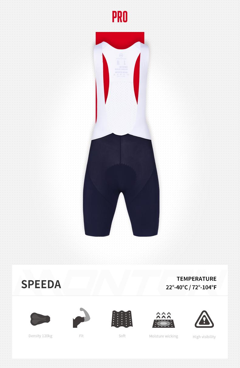 blue cycling bib shorts