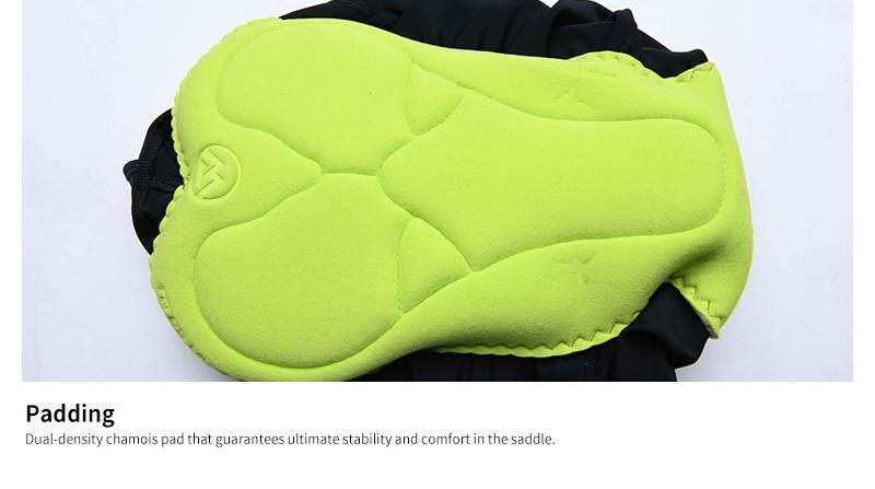 Dual-density chamois pad