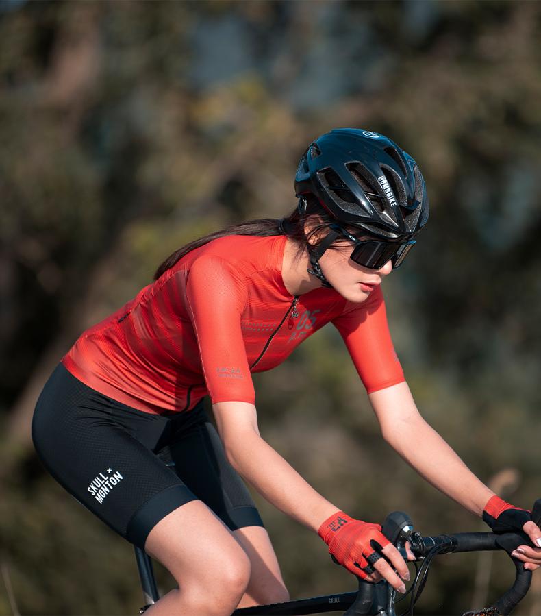 womens black cycle bib shorts