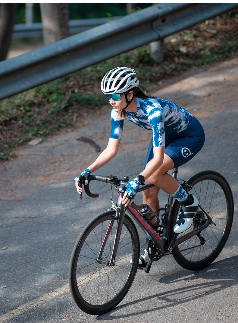 navy blue cycling bib shorts