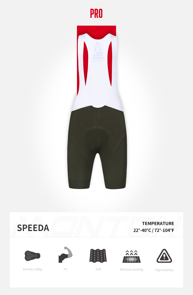 green cycling bib shorts